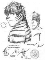 Conceptual Character Design by brownkuma