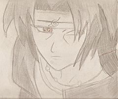 itachi by HeartlessHollow07