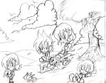 Aaron: Perfect Summer day sketch by Armonsterz