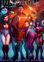 Spaced Hunters Cover by zzzcomics