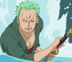 Zoro color by mirimmd