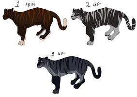 Point adopt - Tigers 3 by Kaeda-adoptables