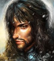 Kili The dwarve by sweetcrescent