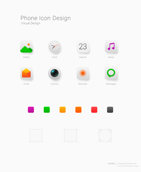 Phone Icon Design by fengsj