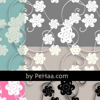 PAPER FLOWERS PATTERN by download12342