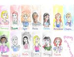 Disney Daughters by FrostfootDreamleaf22
