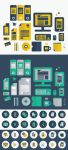 FREE Flat Vector Graphic Design Icons by DesignersBestFriend
