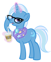Hipster Trixie by PixelKitties