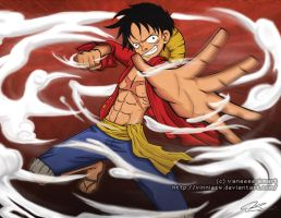 One Piece: Luffy by Vinnie14