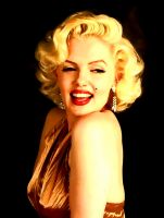 Marilyn in gold by kongvmax