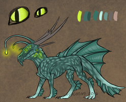 Sea dragon auction (CLOSED) by Virensere