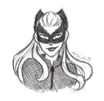 TDKR Catwoman by msciuto