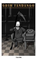 Grim Fandango - Year One by kittydemonchild