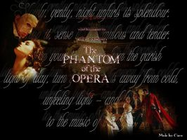Phantom of the Opera Wallpaper by Ciara06