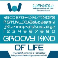 Groovy Kind Of Life font by weknow by weknow