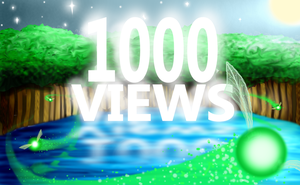 1000 Views!!!!!!!!!-ish by BrightestStarlight