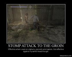 Stomp to the Groin by Lenarde