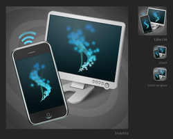 Icons.Iphone Remote by KriGH