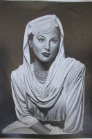 Hedy Lamarr by depoi