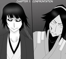 Bleach Yorusoi Past and Present ch.1:Confrontation by hinataconsuegra