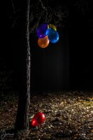 Night Of The Balloons by J-PN