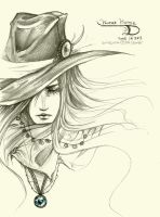 Vampire Hunter D by Sorelliena