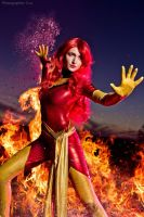 Phoenix Jean Grey cosplay by MrProton