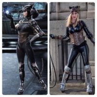 Injustice: God's Among Us Catwoman Cosplay by KatieFlemingCosplay