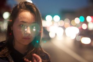 Bokeh Interference by oh-photography