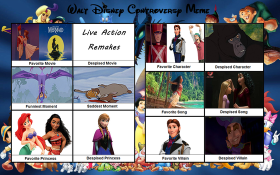 Disney Controversy Meme AGAIN..AND AGAIN by VelociPRATTor