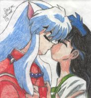 Inuyasha and Kagome 02 by Inuyasha-Ryou
