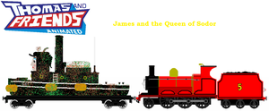 James and the Queen of Sodor by JamesFan1991