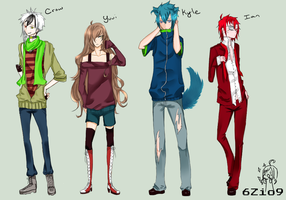 Male OCs bleeehhh by iLina44