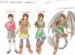 HTTYD OC character designs (aged 14-15) by CessieRose25
