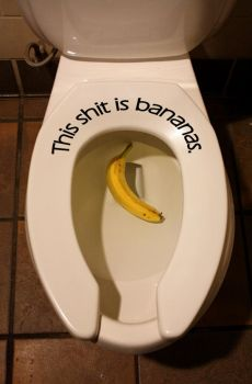 This shit is bananas by agreydaisy