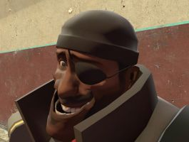 Demoman WTF face by TheXeldoN
