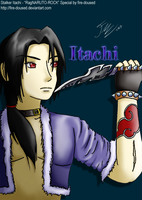 RagNARUTO-ROCK Itachi by fire-doused