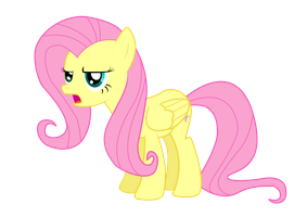 Annoyed Fluttershy by NebulonB100