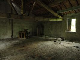 Abandoned attic by Simbores
