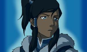 Korra in Thought by Artworx88