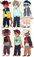 random adopts (CLOSED) by sci-fei