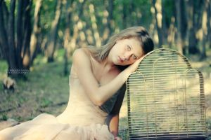girl in a cage by Anna1Anna