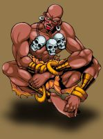 old memories dhalsim by Shayeragal