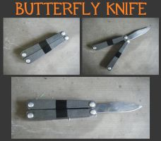 Butterfly Knife by AllisonTex
