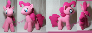 For Sale:Pinkie Pie Plush by PurgatorianHeir