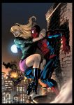 Spider-Man and Gwen Stacy by JackLavy