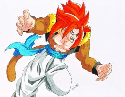 Gogeta SSJ4 by MikeES