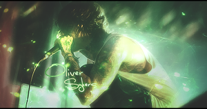 Oliver Sykes by AdellTadrio