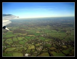 English Countryside - Air by SurfGuy3
