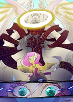 Justice Arcanum: Fluttershy by bunnish